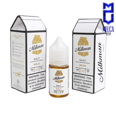 Milkman Salt Gold 40mg 30ml - E-Liquids