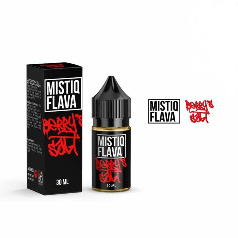 Mistiq Flava Salt Berry's 30ml - 50MG - E-Liquids