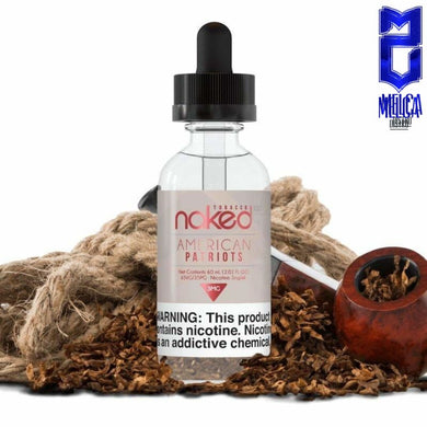 Naked American Patriots 10ml - E-Liquids
