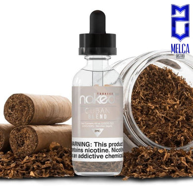 Naked Cuban Blend 60ml - E-Liquids