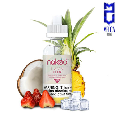 Naked Lava Flow Ice 60ml - E-Liquids