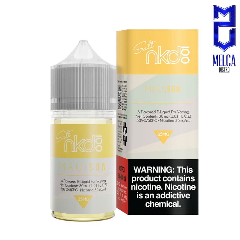 Naked Salt Maui Sun 30ml - E-Liquids