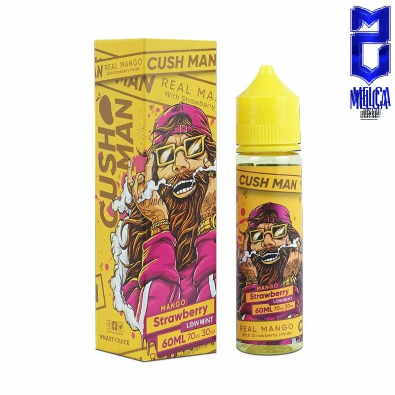 Nasty Cush Man Strawberry 60ml - E-Liquids