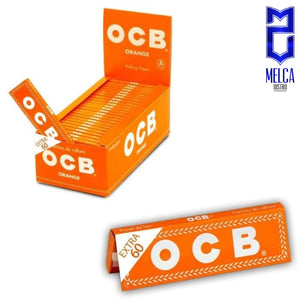 OCB PAPEL OTROS - SINGLE ORANGE CAJA 50 LIBRITOS