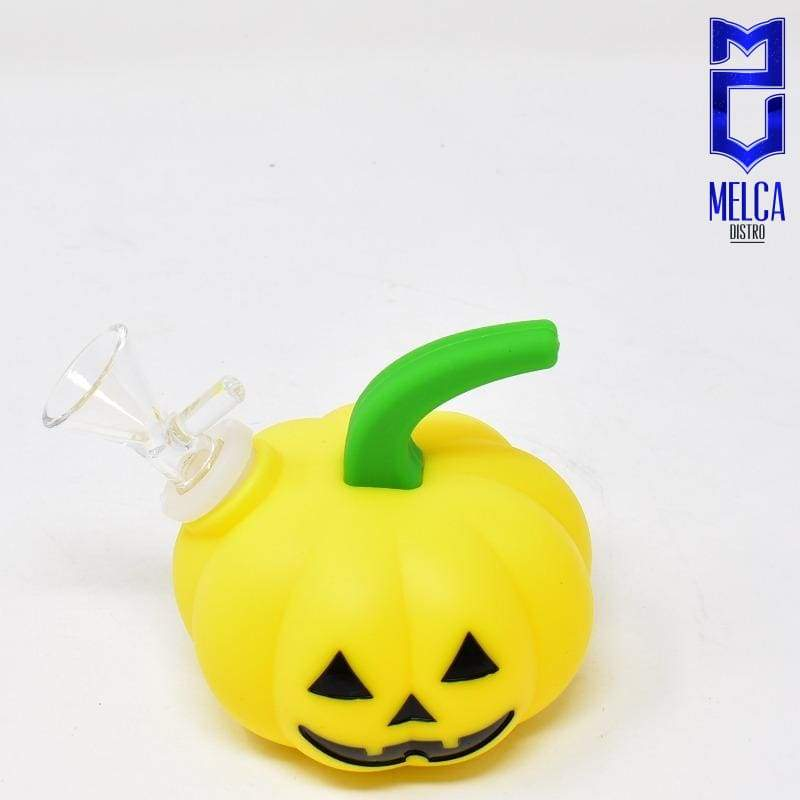 Pipa Silicona P-96 10.8*9.8cm - YELLOW - SMOKING PIPES