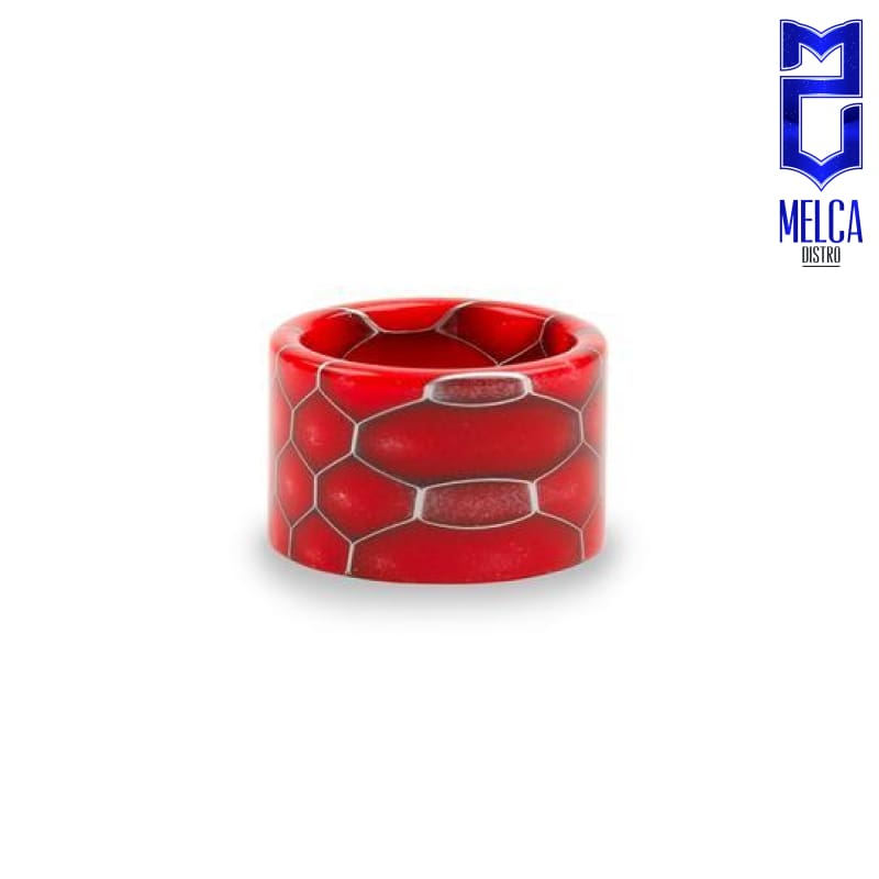Smok Resin Drip Tip Baby V2 Red - Drip Tips