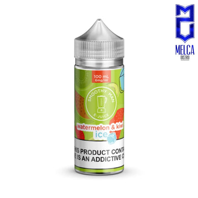 Smoothy Man Ice Watermelon & Kiwi 100ml - E-Liquids