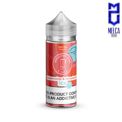 Smoothy Man Ice Watermelon & Strawberry 100ml - E-Liquids
