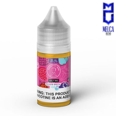 Smoothy Man Salt Ice Mixed Berry 30ml - E-Liquids