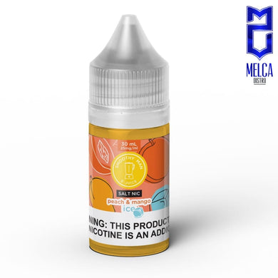 Smoothy Man Salt Ice Peach & Mango 30ml - E-Liquids