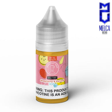 Smoothy Man Salt Ice Strawberry & Banana 30ml - E-Liquids