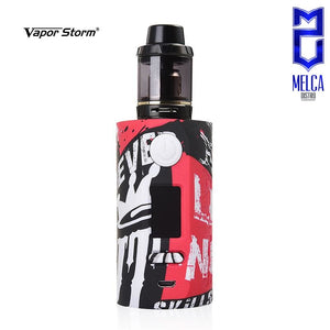 Vapor Storm Puma Kit - Black Red - Starter Kits