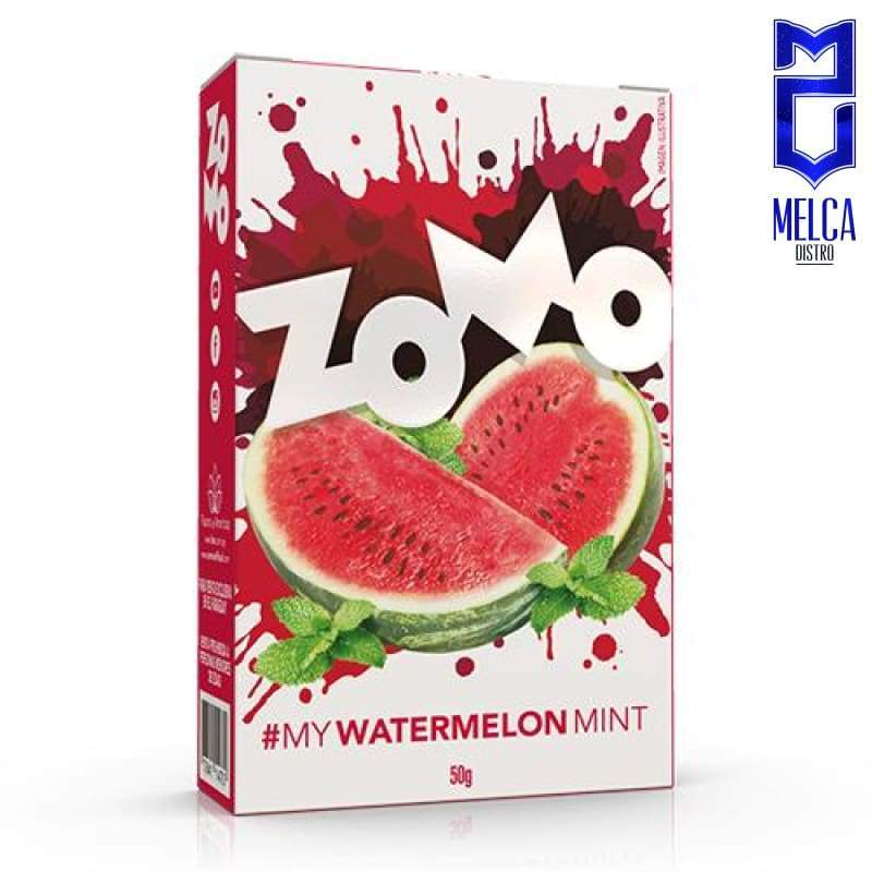 ZOMO WATERMELON MINT - 10x50g - HOOKAH TOBACCO