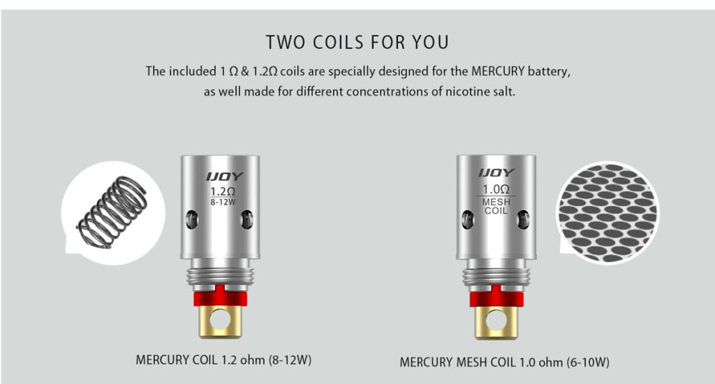 Ijoy Mercury Kit Copper Hellfire