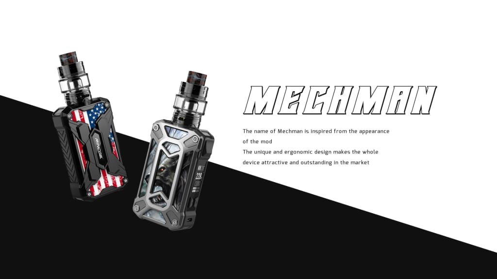 Rincoe Mechman 228w Kit Silver UK