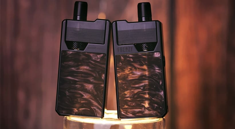 Geekvape Freenzy Pod Systems Gold Carbon Fiber