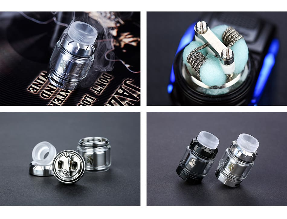 Kaees Stacked RTA 5ml Tank Black