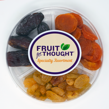 "Load image into Gallery viewer, Assorted Dried Fruit 6"" Party Round"