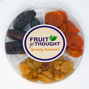 "Assorted Dried Fruit 6"" Party Round"