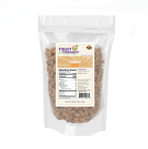 Premium Roasted Cashews Multi-Serving Bags