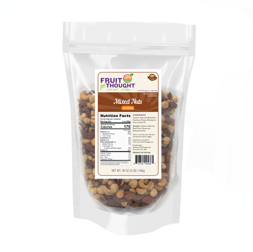 Premium Roasted Mixed Nuts Multi-Serving Bags