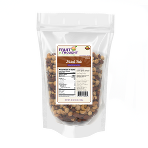Premium Roasted Salted Mixed Nuts Multi-Serving Bags
