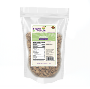 Premium Dry Roasted Salted Pistachios Multi-Serving Bags