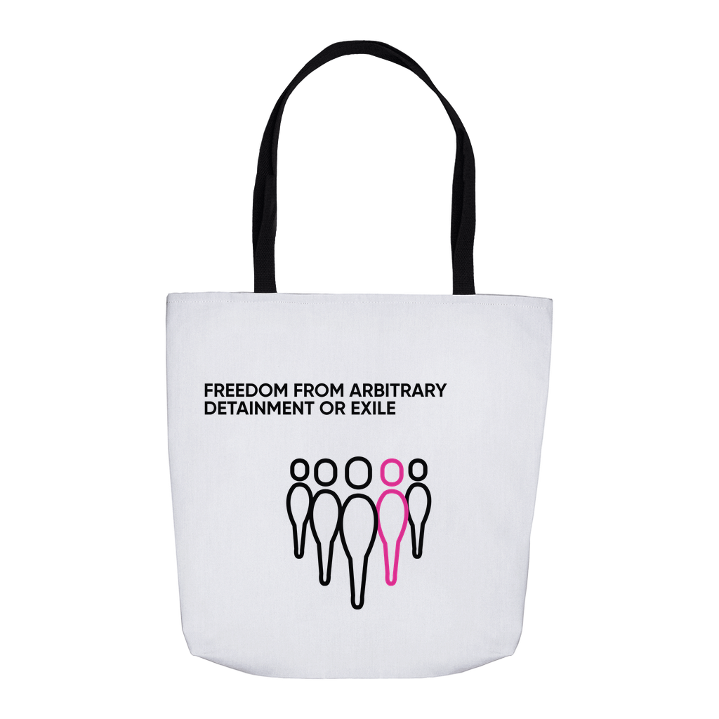 All Freedoms Tote (Arbitrary Detainment)