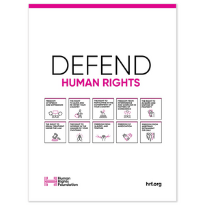 Defend Poster