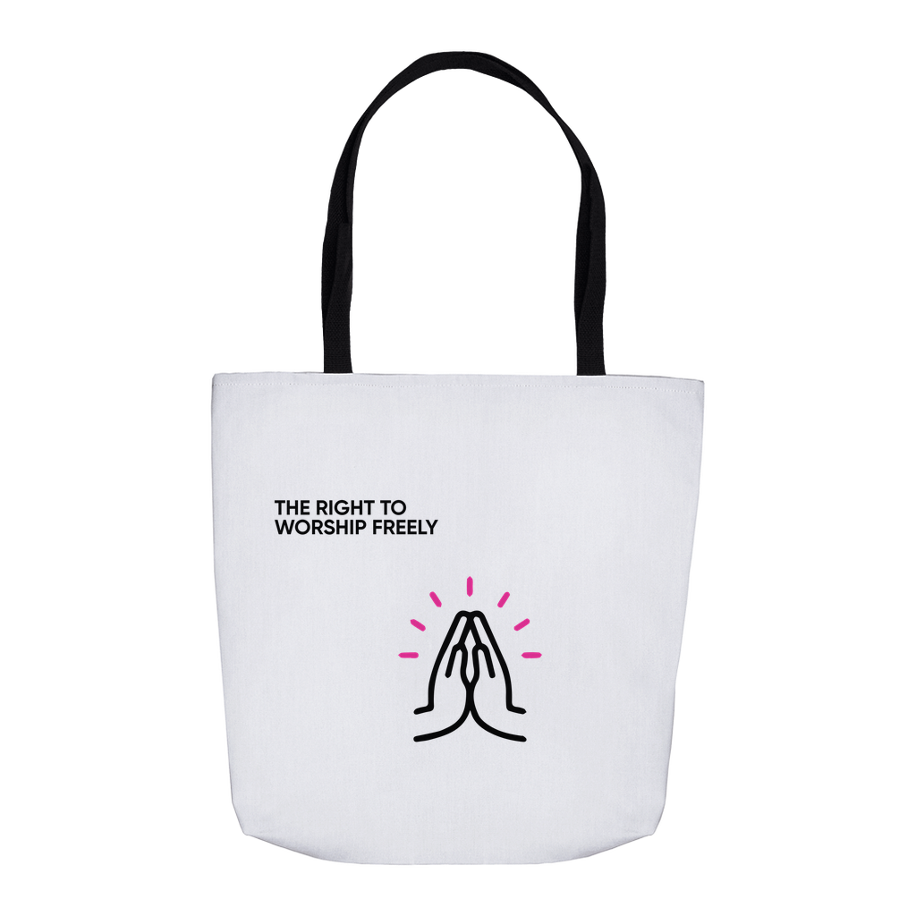 All Freedoms Tote (Right to Worship)