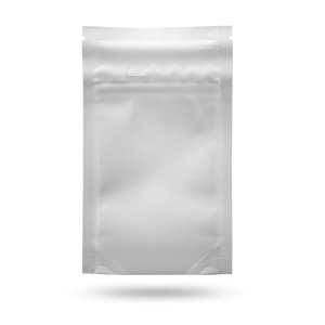 Eighth ounce white barrier bag