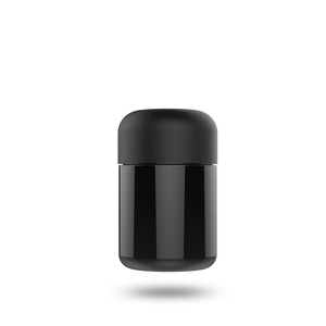 Basic Glass Jar - Black