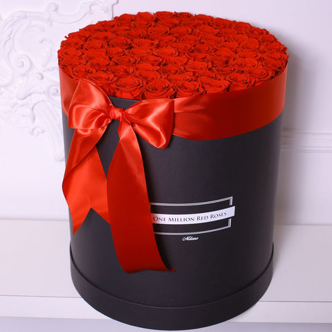 Senza Tempo - One Billion  Box - Rose Rosse - Scatola Nera