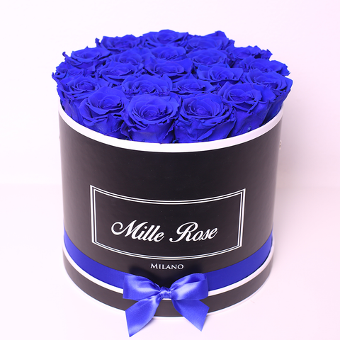 Mille Rose Collection - Senza Tempo - Small Box - Rose Nere - Scatola Rosa