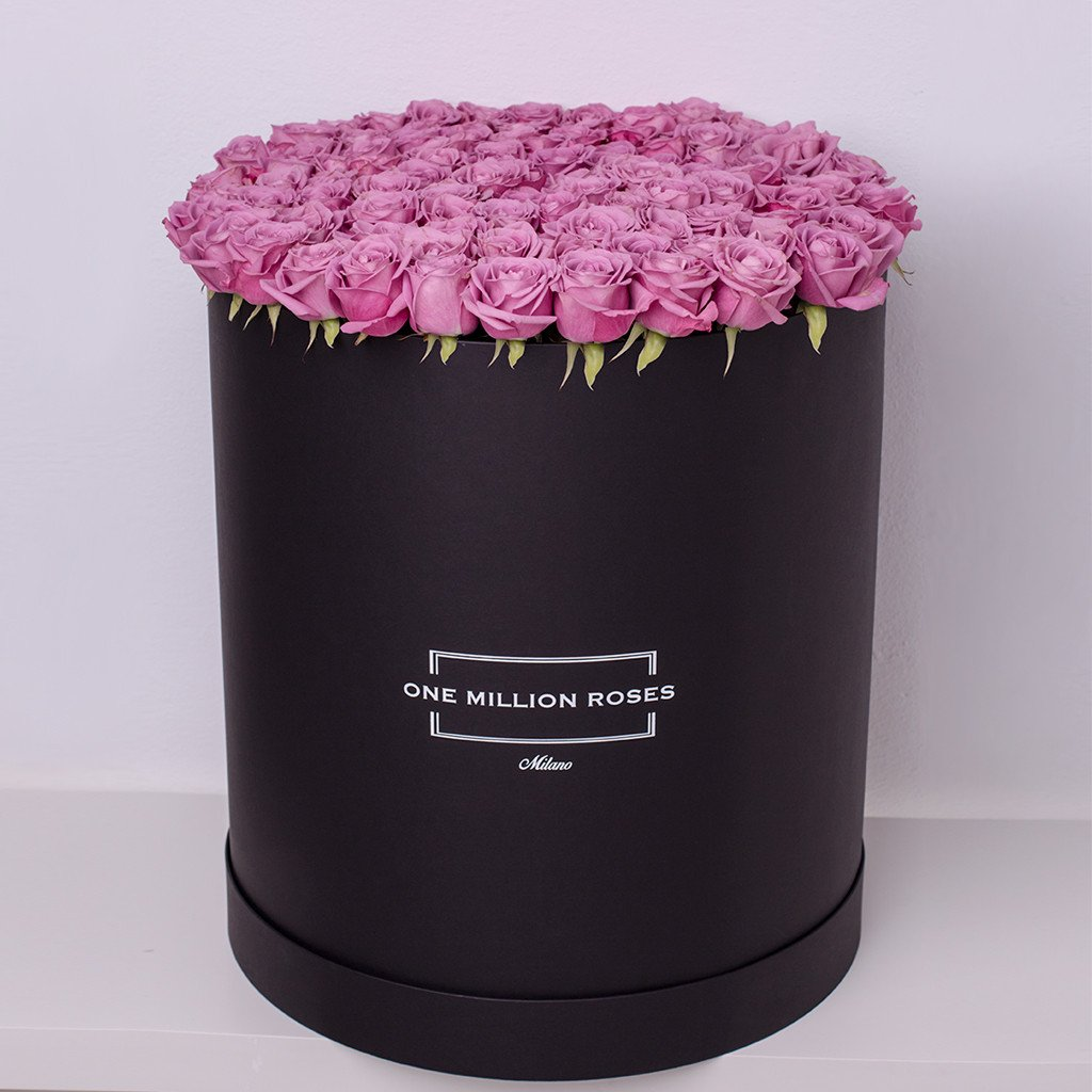 Classic Collection - One Billion Box - Rose Rosa - Scatola Nera