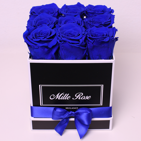 Mille Rose Collection - Medium Box - Rose Rosse - Scatola Bianca