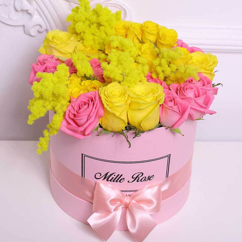 8 Marzo Collection - Medium Box - Festa della Donna Mix - Scatola Rosa