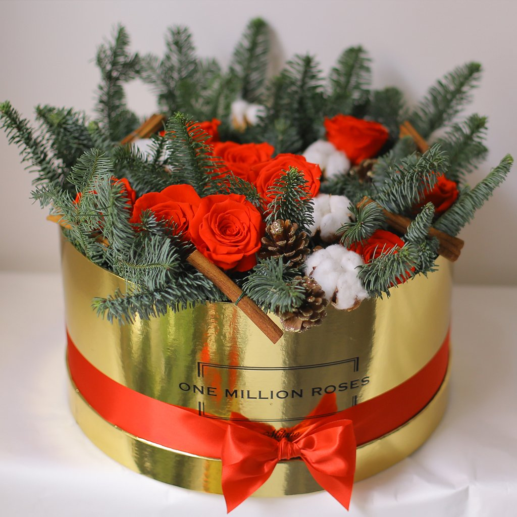 Christmas Collection - Senza Tempo - One Million Box - Mix Natale - Scatola Oro