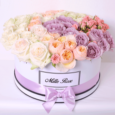 Mille Rose - One Million Box - Rose Mix - Scatola Bianca