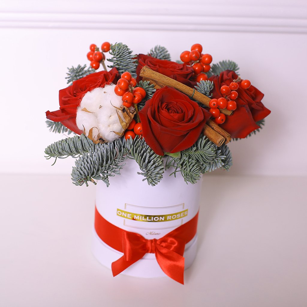 Christmas Collection - Mini Box - Mix Natale - Scatola Bianca
