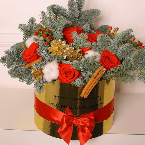 Christmas Collection - Medium Box - Mix Natale - Scatola Oro