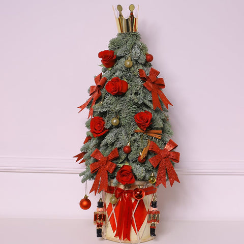 Christmas Collection - Luxury Christmas Red Tree - Mix Natale