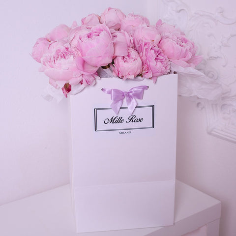 Mille Rose Collection - Bag Box - Peonie Rosa