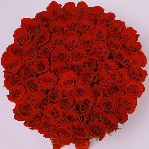 Classic Collection - One Million Box - Rose Rosse - Scatola Bianca