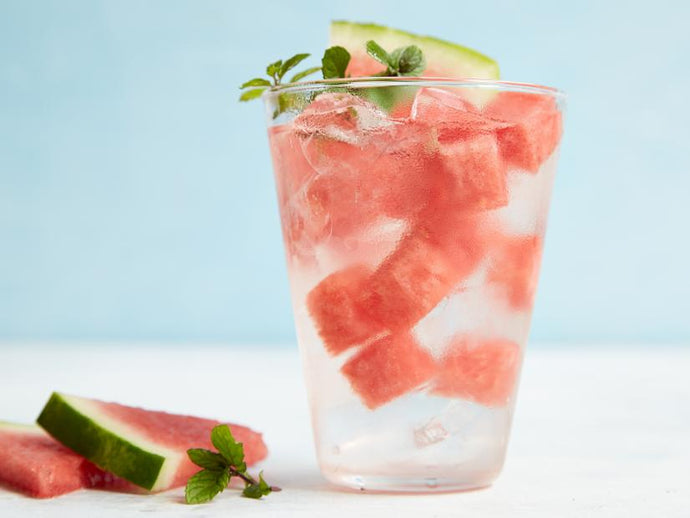 Watermelon and Mint Infused Detox Water Recipe (Easy)