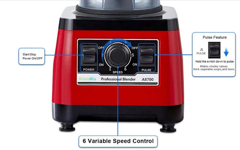 2200W 3HP Heavy Duty Commercial Fruit Vegetable Bar Blender Mixer   High Performance Professional Restaurant Food Processor   Ice Crusher & Smoothie, Shake Maker 2L Large Capacity Countertop High Speed Machine   Best Electric Kitchen Ninja Vitamix Blendtec Blenders Buy Online Commercial Blenders for Sale Price Reviews …