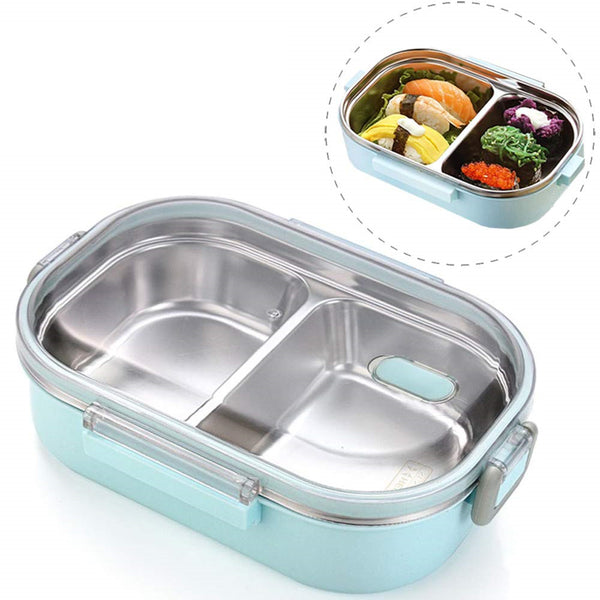 2019 New Portable Leak Proof Bento Lunchbox for Adults & Kids & Students Teens | Diets & Meal Snack Preparation | Thermal Insulation Lunch Box Carrier Container Bento Box Travel Camping Picnics School Work | 3-4 Compartments Detachtable Storage Sections On the Go Food Container 1200ml 40 oz Large Capacity | Buy Online