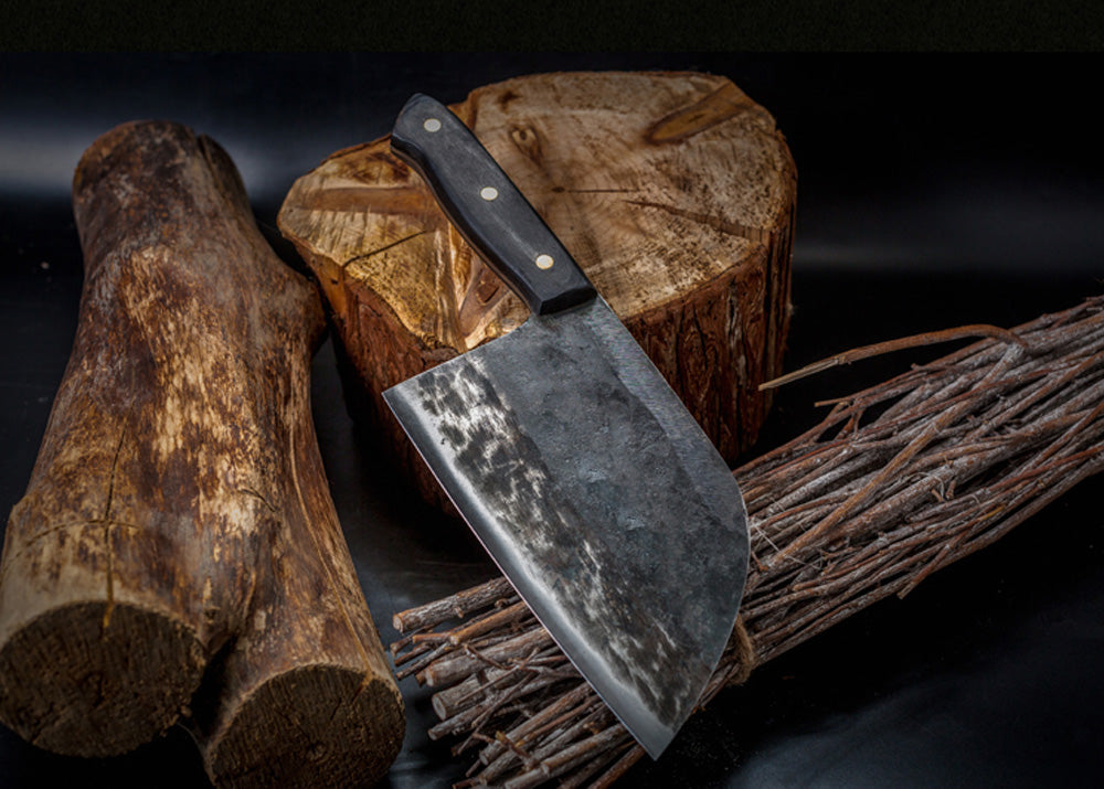 "Handmade Forged Ultra Sharp High Carbon Clad Stainless Steel Butcher Cleaver Knife | Commercial & Home | Best Custom Hand Made Manual Forged Butcher Knife | Cleaver Knife | Buy Japan Professional Cleaver Butcher Knife Online 7 inch 8"" 7"" 9"" 