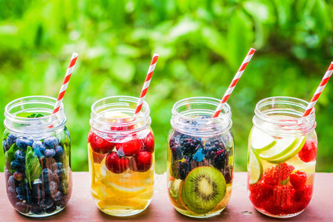 fruit infusion water recipes