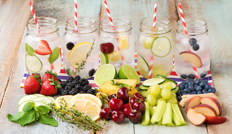 8 Infused Water Recipes for Detox & Weight Loss | Infuser Water Bottle